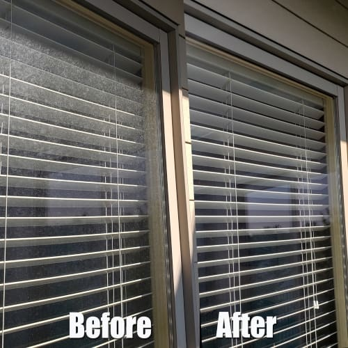 window cleaning transformation before after wichita ks
