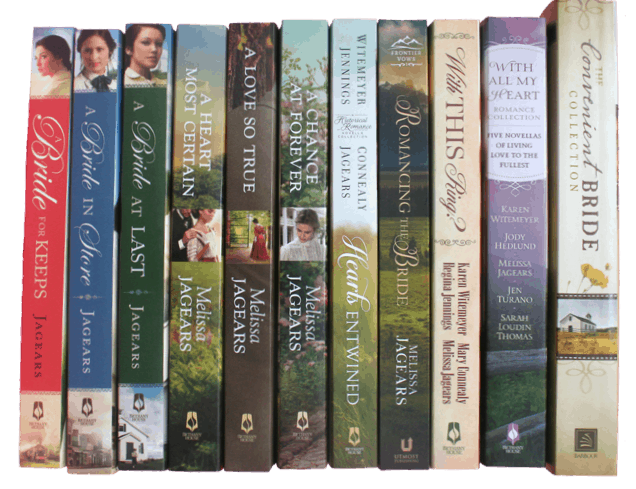 Melissa Jaegers Author image of books